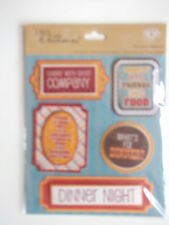 K&co 3D Stickers Medley - Dinner Night - dinner party