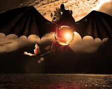 How to train a dragon Poster Wall Decoration High Quality 16x20