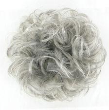 Elastico per capelli Hairpiece ponytail grigio 17/l51 peruk