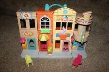Fisher Price Sweet Streets Shopping District Mall Set Lot Doll Dollhouse RARE
