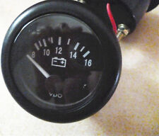 "12V 2"" 52MM VOLT VOLTAGE METER GAUGE VOLTMETER BOAT CAR AUTO MEASURE RANGE 8-16V"