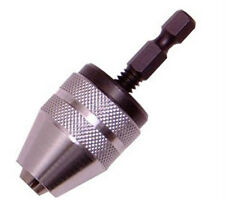 "1/4"" Hex Shank Keyless Chuck Drill Driver Quick Change"