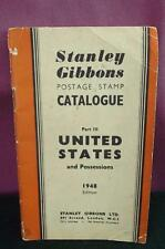 Stanley Gibbons United States stamp Catalogue part 3 1948 edition