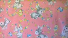 Quilt Gate cotton fabric Dear little world FQ quilting rabbit bunny