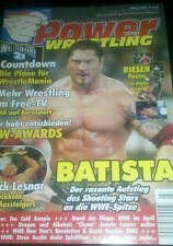 Poster John Cena Triple H Christian Jerry Lawler Power Wrestling 3/2005 Zeitung