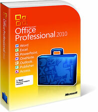 Microsoft Office PROFESSIONAL 2010 product key licenza RETAIL ORIGINALE
