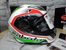 Kabuto Aeroblade 3 III Torrent Japan Helmet White Green Red Factory Large L Adul
