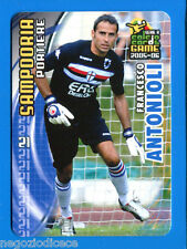 [GCG] CALCIO CARDS GAME 2005-06 - Figurina-Sticker n. 161 - ANTONIOLI SAMPDORIA