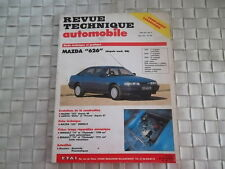 REVUE TECHNIQUE MAZDA 626 ESSENCE DIESEL - COUPE 2 PORTES - BERLINES et BREAK