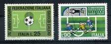 Briefmarken Italien 1973 Nr: 1404 - 1405 75 Jahre Ital. Fußballverband ** BR612
