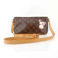 Louis Vuitton Vintage Murakami Porte Cles Panda Monogram Trotteur Shoulder Bag