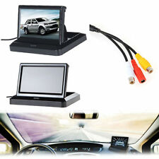 5'' LCD Screen Car Rear View Backup Parking Mirror Monitor + Camera Night Vision