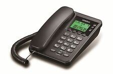 Uniden AS6404 Corded Landline Phone (Black)