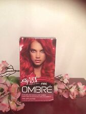 Splat Semi Permanent Hair Color Kit Ombre Fire