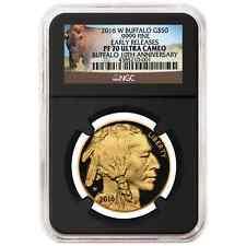 Deal- 2016-W Proof $50 American Gold Buffalo 1 oz NGC PF70UC Buffalo ER Label Re