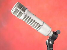 Electro Voice (EV) RE20 Broadcast Dynamic Microphone w/ Case & Stand mount