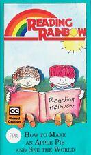 READING RAINBOW Make Apple Pie See World VHS Marjorie Priceman shopping PBS
