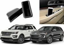 LH & RH Door Panel Insert Trays For 2016-2017 Ford Explorer New Free Shipping