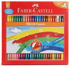 50 x Faber-Castell Oil Pastels Like Pentel Oil Pastels Crayons Cheapest on eBay!