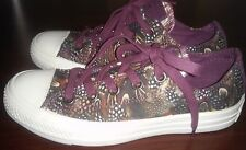 NEW CONVERSE ALL STAR PRINT FEATHER OX ORIENTAL 544999F SIZE WOMEN 6