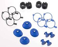 Traxxas 5378X Pivot Ball Caps (4) Dust Boots Rubber (4) Revo E-Revo Summit
