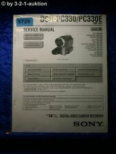 Sony Service Manual DCR PC330 /PC330E Level 2 Digital Video Camera (#5728)