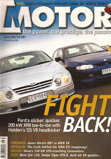 Motor Jun 00 XR8 Commodore SS DB7 Z8 Skyline GTS A6 Hillier Falcon Coupe Mangust
