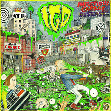 INFECTIOUS GARAGE DISEASE CD punk rock meatmen dwarves DRI fear thrash 80's
