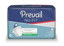 First Quality Nu-Fit Adult Brief Diaper, MEDIUM, Extra Abs., NU-012 - Pack of 16