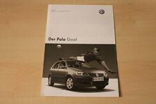 68426) VW Polo 9N Goal - Preise & Extras - Prospekt 01/2006