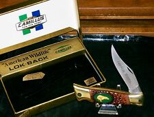 "Camillus USA #11 Lockback Knife American Wildlife ""The Bear"" W/Packaging Rare"
