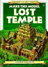Make This Model Lost Temple (Usborne Cut-Out Models), Ashman, Iain, Good Book