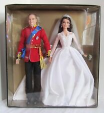 Barbie William & Catherine Royal Wedding Gold Label Collection Dolls Set of 2