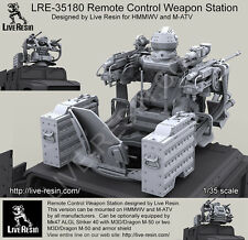 Live Resin LRE35180 1/35 Remote Controlled Weapon Station for HMMWV and M-ATV