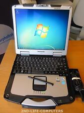 "PANASONIC CF-30 MK3 13,3"" Rugged Win7 Toughbook Touchscreen C2D 1,6Ghz 4GB 160GB"