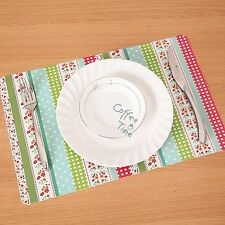 Floral Heat Insulation Table Mat Pad Placemat Dinnerware Coaster Protector New