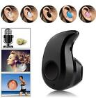 Mini Bluetooth 4.0 Wireless Headset Stereo In-Ear Headset Headphone Earphone FS