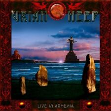 Uriah Heep - Live In Armenia (Live Recording) (2CD+DVD Box Set) SEALED Digipak