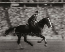 1936 Vintage OLYMPICS EQUESTRIAN Horse Fall Germany Photo Art ~ LENI RIEFENSTAHL