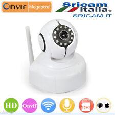 SP011 IP CAMERA HD H.264 IR CUT SD IR WIRELESS WIFI WI-FI CAM P2P SRIITALIA PRO