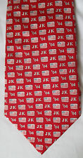 RARE VINEYARD VINES CUSTOM COLLECTION JOHN KERRY FOR PRESIDENT 2004 RED TIE