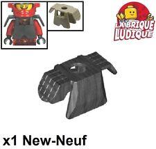 Lego - 1x Minifig armure armor samourai X gris foncé/pearl dark gray 30174 NEUF