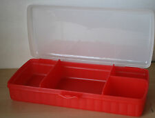Tupperware Lunch N Things Sandwich Juice Box  Red New