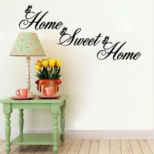 2016 Sweet Home Decor House Wall Stickers DIY Removable Art Vinyl Wall Sticker +