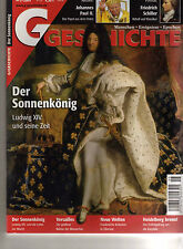 G Geschichte mit Pfiff 5/05 Der Sonnenkönig