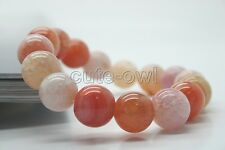 Dragon Skin Agate Gem Tibet Buddhist Prayer Beads Mala Bracelet 10mm