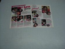 B103 DREW BARRYMORE ANGELINA JOLIE PINK NICOLE RICHIE '2007 BELGIAN CLIPPING