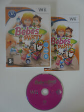 BEBES PARTY - BABYSITTING PARTY - NINTENDO WII - COMPLET