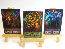 ~PROXY~ Orica Custom Egyptian Gods 3 Card Lot (Anime Style)
