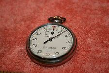 Vintage Swiss Gallet & Co. Stop Watch with Jules Racine & Co. Case